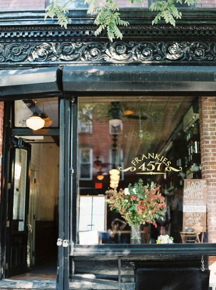 NYC Restaurant Wedding Venues We Love: Frankies Spuntino