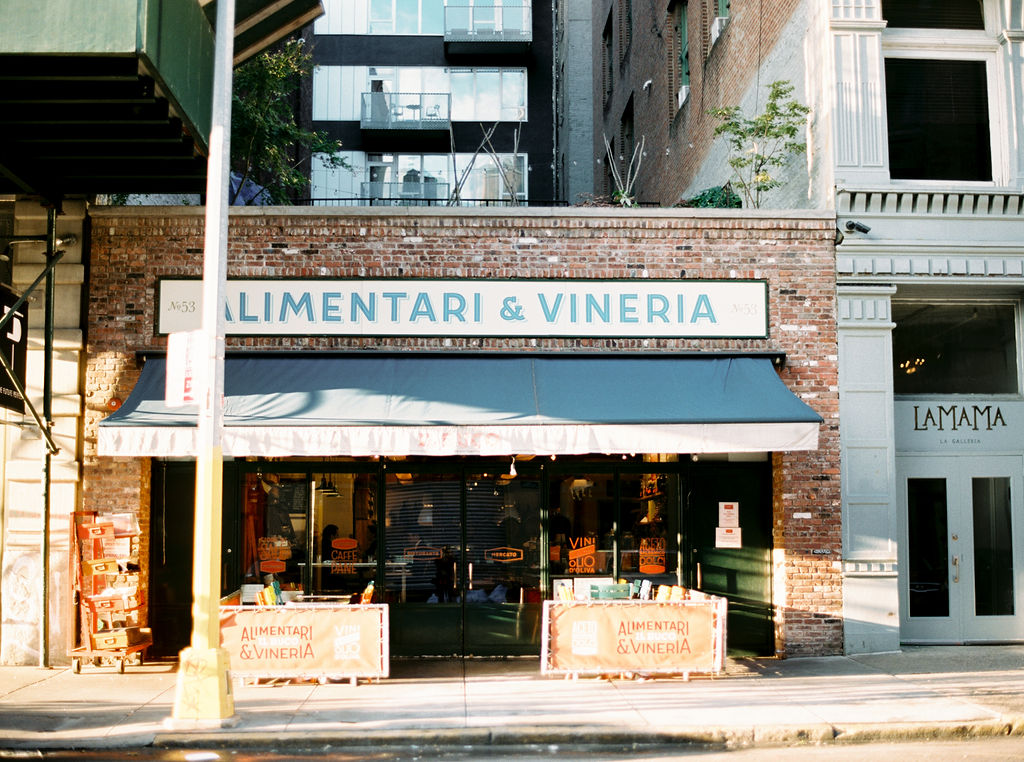 NYC Restaurant Wedding Venues We Love: il Buco Alimentari